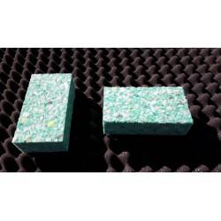 Blokjes schuim 10x5x3 cm