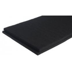 Polyester zwart geluidsisolatieplaten